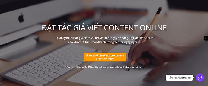 website he thong dat viet content voi tac gia online