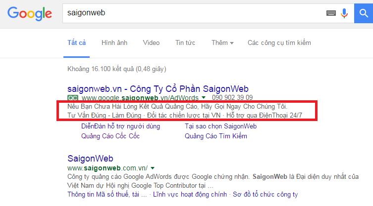 Cách viết mẫu quảng cáo Google Adwords ấn tượng và thu hút nhất.
