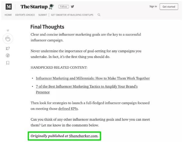 Blog Platform nền tảng đăng Content Syndication